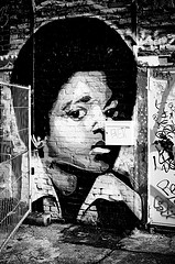 Michael Jackson Graffiti, Berlin, by stylespion (Flickr)